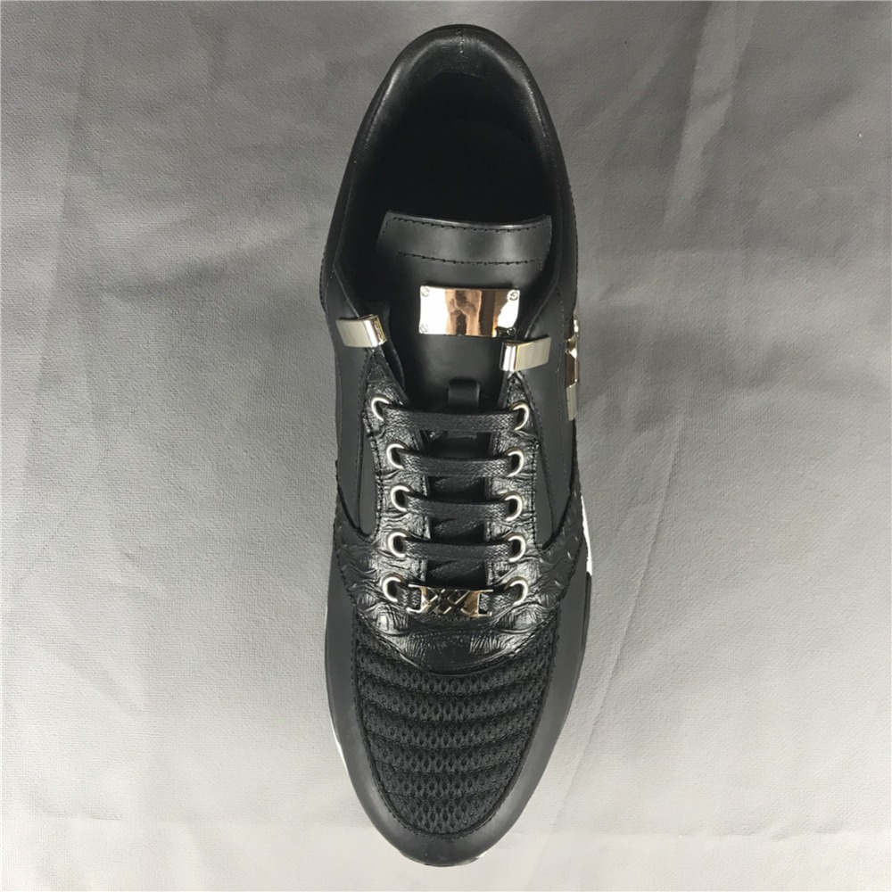 Original Skin F.N.JACK Männer Schuhe Laufende Mode Schädel Sneaker - Herrenschuhe - Foto 5