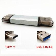 exuanck USB Flash font b Drive b font USB 3 0 OTG Type C Pen font