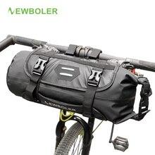 NEWBOLER велосипедная сумка на переднюю трубу, водонепроницаемая велосипедная корзина на руль, велосипедная передняя рама, Аксессуары для велосипеда