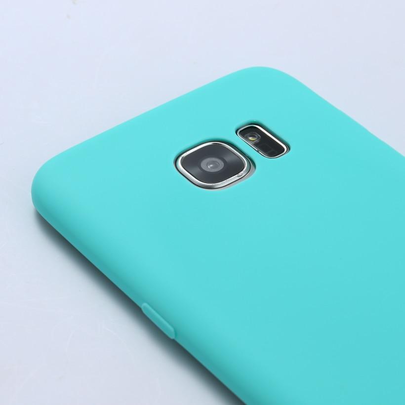 AKABEILA Plain Candy Phone Case For Samsung Galaxy S6 SVI G920F G920FD G920FQ G920I G920A G920S/K G9200 G9208 G9208/SS Covers