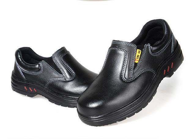 Plus Größe Chef Schuhe ölbeständige Arbeitsschuhe Wasserdichte Küche  Arbeitsschuhe Für Männer Stahlkappe Schuhe