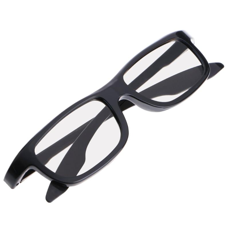 Circular Polarized Passive 3D Stereo Glasses Black RD3 For TV Real D 3D Cinemas