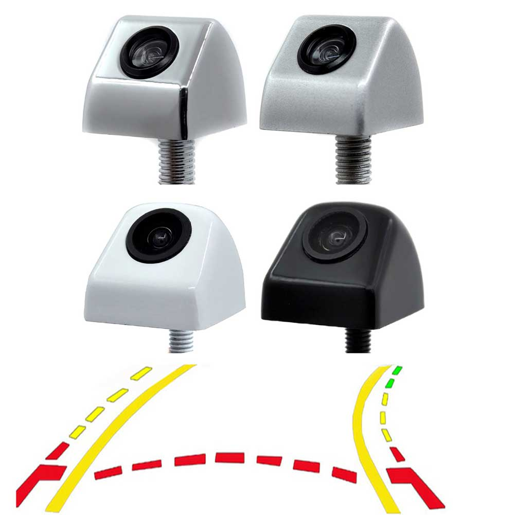 Car Intelligent Dynamic Trajectory Moving Guide Parking Line Rear View Reverse Backup Tracks font b Camera