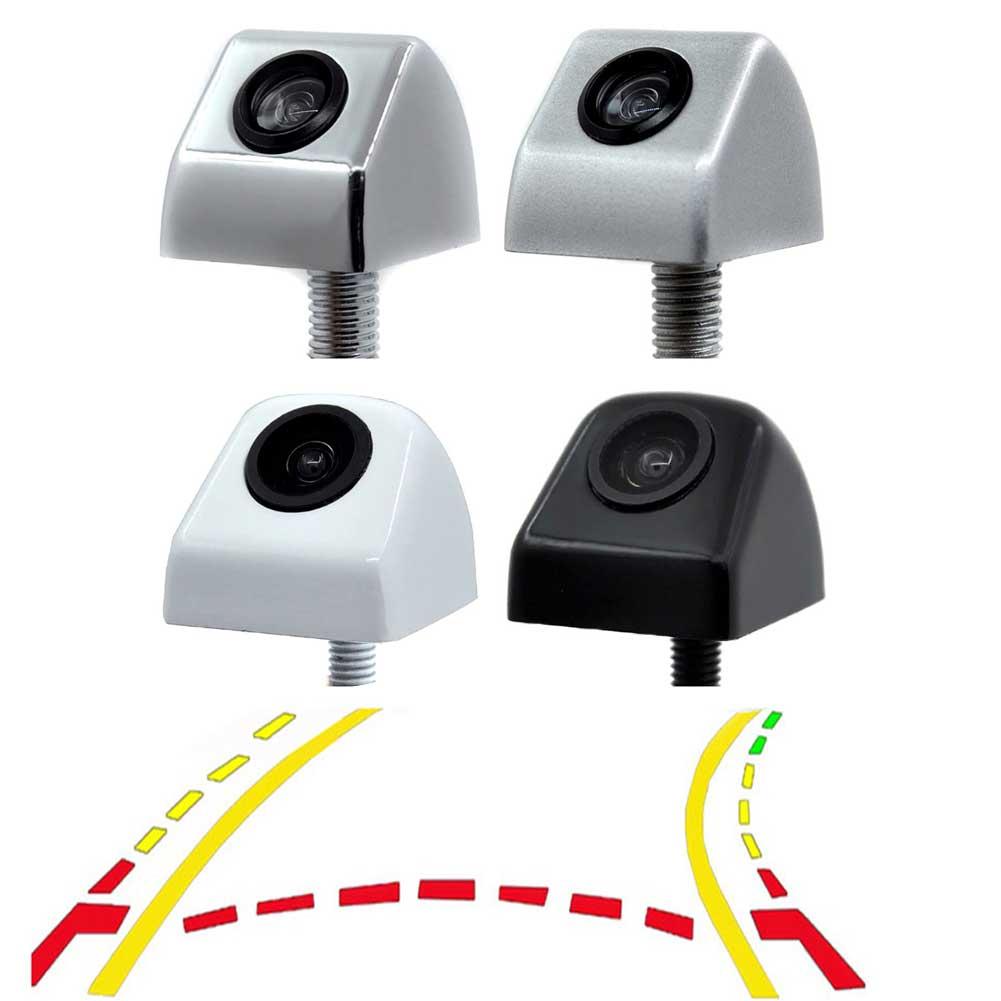 Coche trayectoria dinámica inteligente Movimiento Guía línea de estacionamiento vista trasera Reverse Backup Tracks cámara para Android DVD Monitor