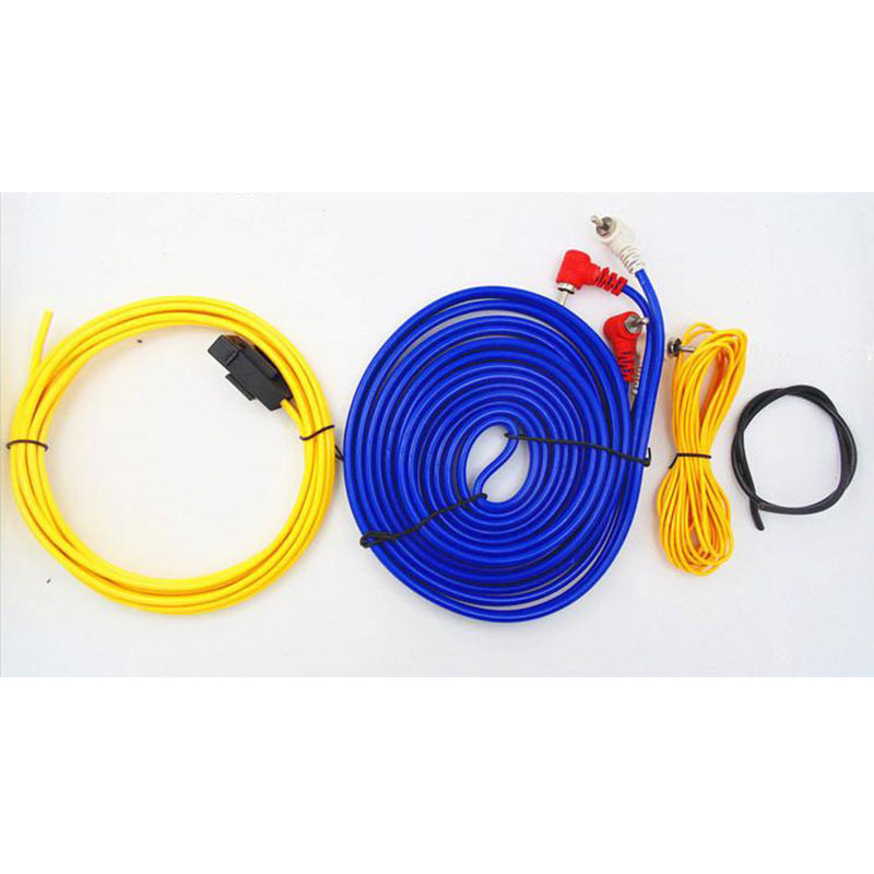 subwoofer speaker  professional car audio wire  length wiring amplifier installation wires