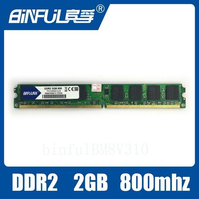 Модуль памяти для компьютера DDR2 800/PC2 6400 2GB. Бесплатная доставка.