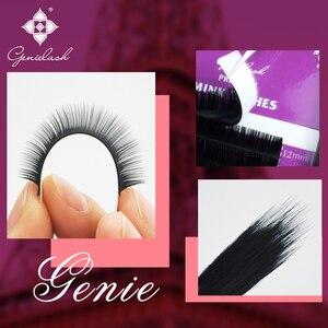 Image 4 - Genielash cils individuels volume extensions de cils haute qualité faux cils vison cils professionnel makeup50pcs/lot