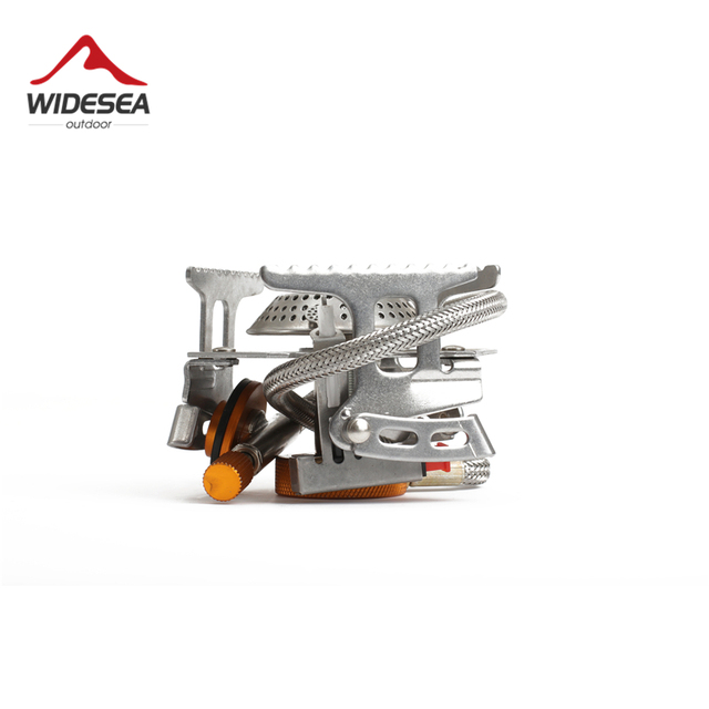 Widesea Outdoor Gas Stove Camping Gas burner Folding Electronic Stove hiking Portable Foldable Split Stoves 3000W 2