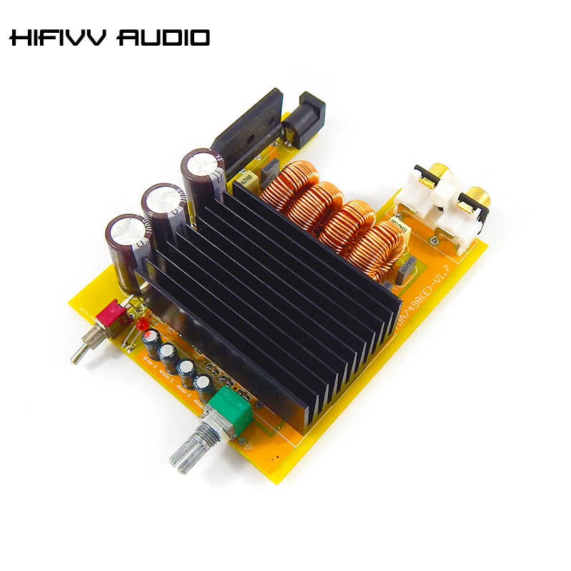 160W*2 TDA7498E high power audio digital power <font><b>amplifier</b></font> board <font><b>hifi</b></font> amp board image
