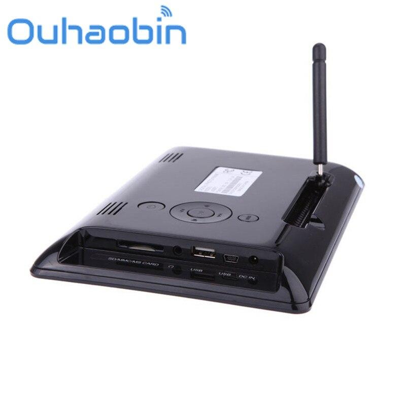 Ouhaobin 7 pulgadas HD LCD marco de fotos Digital con despertador ...