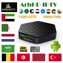 IPTV France Arabic T95Z Plus 1 month IP TV French Full HD Turkey Subscription 4K Box Belgium Morocco
