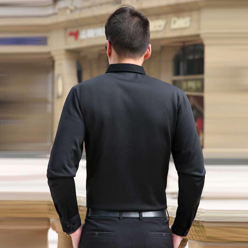 505c5445e7 Camisas para hombre primavera camisetas de manga larga ropa Casual delgado  vestido de hombre camisa para navidad envío gratis en Camisas casuales de  La ropa ...
