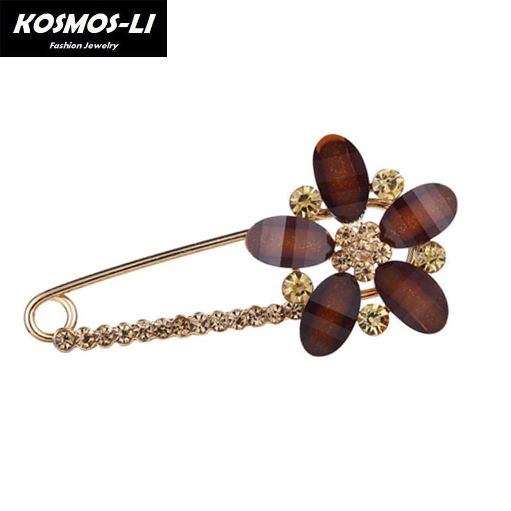 88a7148b4af Large Brooches vintage brooch female fashion broche hijab pins and brooches  for women wing pin brooch