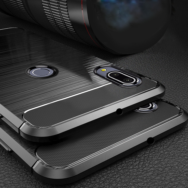 the best attitude 0e9dc 4a0fb US $1.97 34% OFF Case for Asus Zenfone Max Pro M1 ZB601KL ZB602KL case  Armor Bumper Shockproof Back Cover Rugged Case for Asus Zenfone Max Pro  M1-in ...
