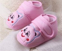 Amazing 0 12 Month Baby Boy Girls Crib Shoes Infant Crib Cotton Fall and Winter Baby