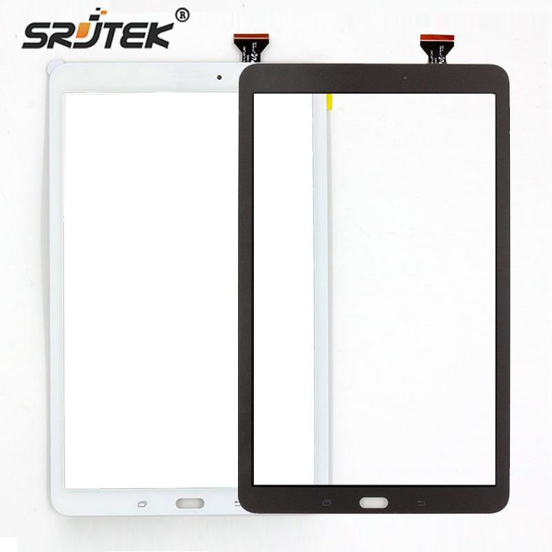 Srjtek 9.6 inch For Samsung Galaxy Tab E 9.6 SM-T560 T560 T561 Tablet Pc Touch Screen Digitizer Glass Sensor+Free Shipping free shipping new brown white touch screen digitizer glass replacement for samsung galaxy tab s 10 5 sm t800 t805s t805k t805l