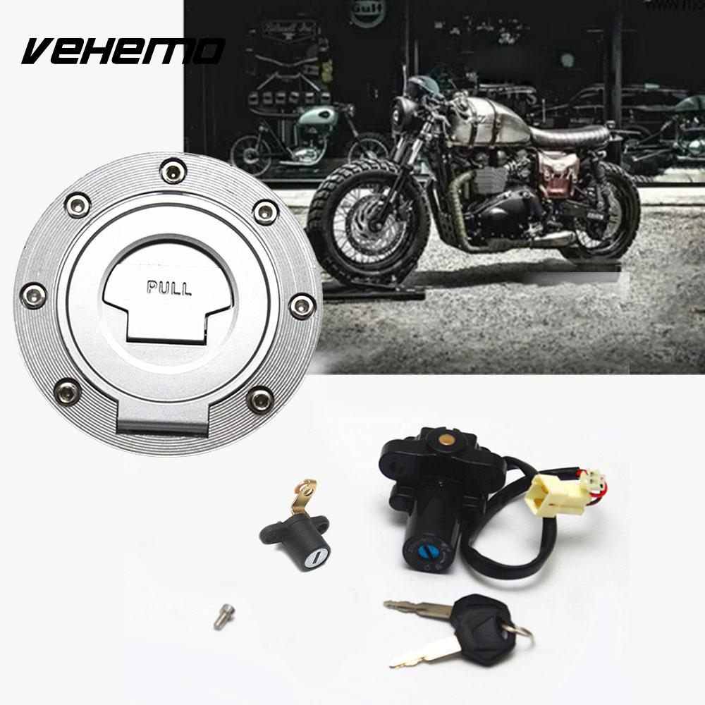 Gas Cap Power Ignition Switch Gas Tank Lock Key Modification Set For Yamaha scarlett sc ek18p10 white grey чайник электрический