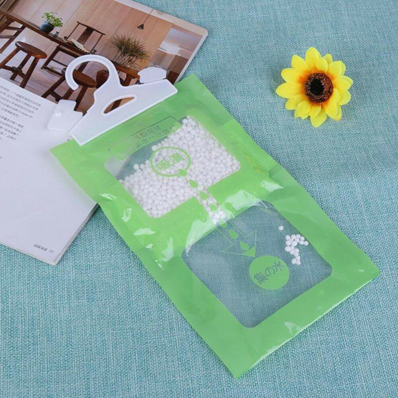 Image 2 - Hanging Wardrobe Hanging Moisture Bag Closet Cabinet Wardrobe Dehumidifier Drying Agent Hygroscopic Anti Mold Desiccant Bags-in Moisture Absorbers from Home & Garden