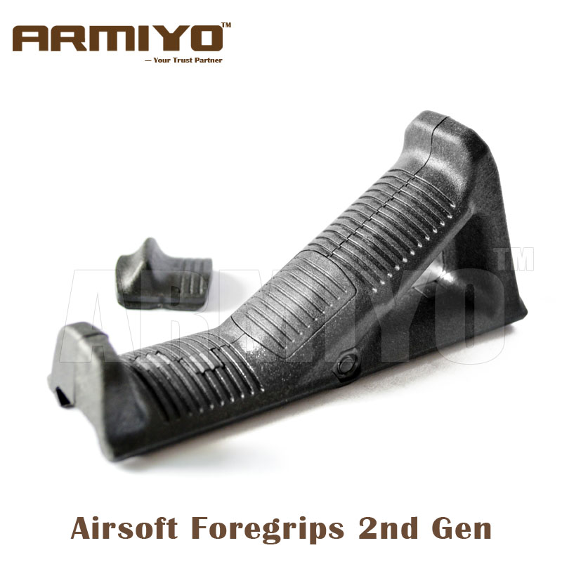 Armiyo Tactical 2nd Gen Airsoft Angled Fore AR m4 15 Handguard Rack Grip 1913 Picatinny Rail Shooting Paintball Accessories рубашка fore axel