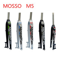 MOSSO M5 MTB bike forks aluminum mountain bicycle fork bicicleta parts Support for 26 27.5 29