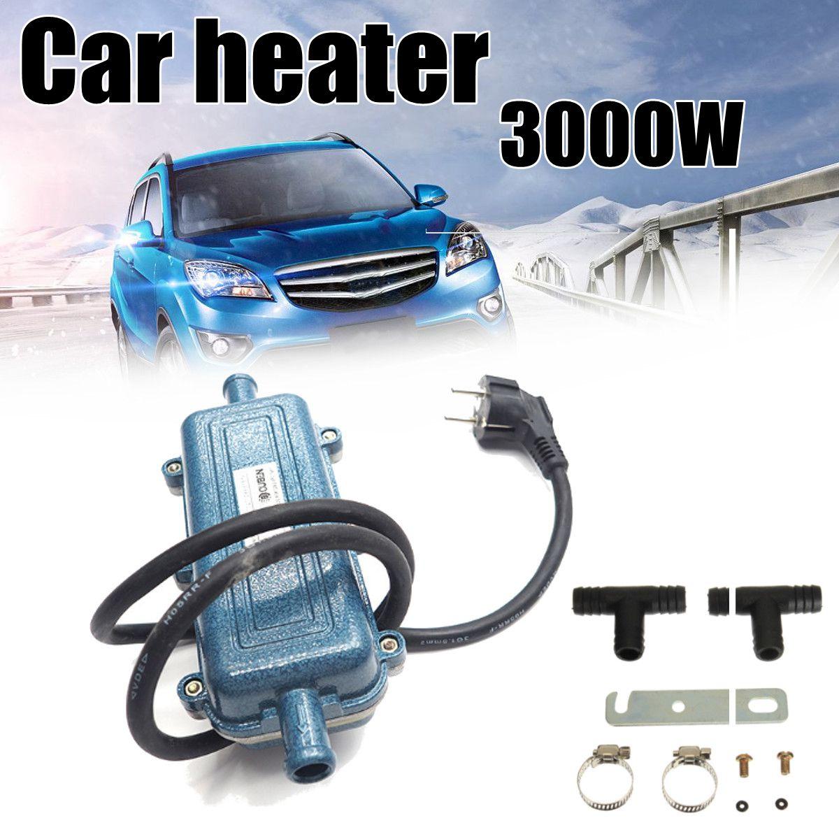 Coche portátil aire calentador precalentador 220 V 3000 W Metal motor ciclo de calefacción máquina acondicionado calentador para autocaravana Car SUV