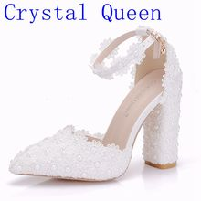 Women Lace Pointed Queen