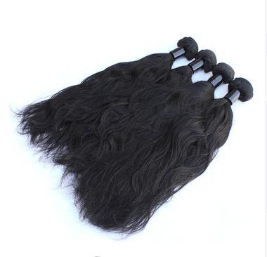 Gros cheveux faisceaux pleine cuticule cheveux crus humains naturel vague cheveux produits