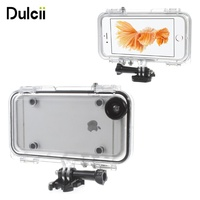 Dulcii For I6 I5 Iphone6 6s 5 SE 6plus Cover Extreme Sports Waterproof Case With Wide
