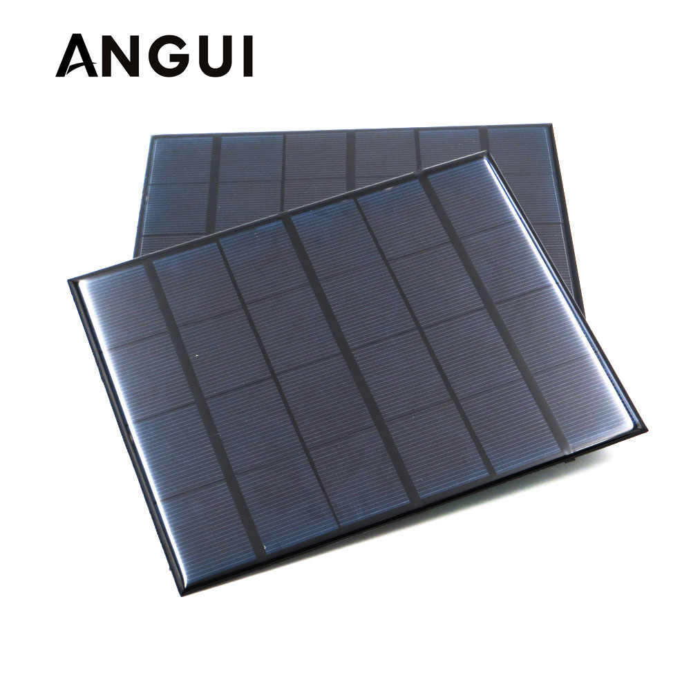 150mA 160mA 200mA 250mA 500mA 840mA Solar Panel 5V Mini Solar Battery cell phone charger portable