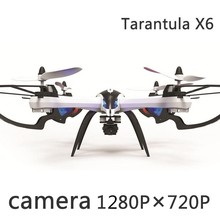 JJRC Tarantula X6 5.8GHz 5MP Camera Drone 4CH RC Quadcopter drone helicopter quadcopter RTF 1080P HD Optional FSWB