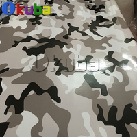 New Glossy Urban Snow Camo Vinyl Car Wrap Gloss Finshed Black White Camouflage Film Vehicle Decal Wrapping Sticker 30m