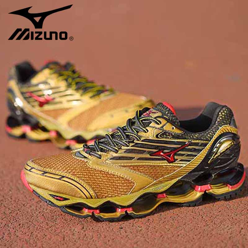 Mizuno Wave Prophecy 5 Professional Sport Shoes Men Original outdoor Running Walking Weightlifting Shoes Sneakers Size 40-45 original mizuno wave prophecy 6 professional weightlifting shoes men sneakers outdoor high quality sport sneakers size 40 45