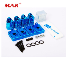 New 1:10 Scale Strong Magnetic Stealth Drift Car Body in Blue fit DIY for RC Drift Car Model Parts and Accessories