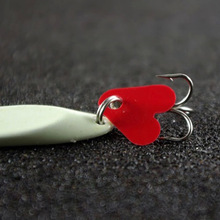 Artificial Bait Lure Luminous Fishing Lures Metal Lure Treble Hook Baits 7g 10g 14g jig Wobbler Lure Fishing Tackle