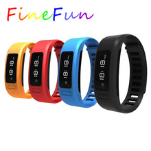 FineFun Smart Armband H6 Wasserdichte Bluetooth Fitness Tracker Pedometer Schlaf-monitor Sport Armband Ios Android Smartwatch