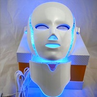 The Best 7 Color LED light therapy Face Mask Session Anti Aging device Rejuvenation Therapy Makes treatment Massage Relaxation