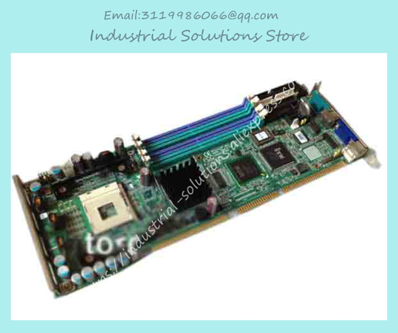 industrial motherboard PCA-6187 REV.A2 6187VE REV: A2 board original 100% tested perfect m945m2 945gm 479 motherboard 4com serial board cm1 2 g mini itx industrial motherboard 100