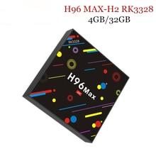 4G 32G H96 Max H2 Android 7 1 TV Box RK3328 Quad Core 4K Smart Tv
