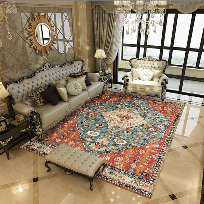 Bohemian Retro Rugs And Carpets For Home Living Room Ethnic 3d Carpet Bedroom Study Rugs Sofa Mat Machine Washable Home Decor Aliexpress