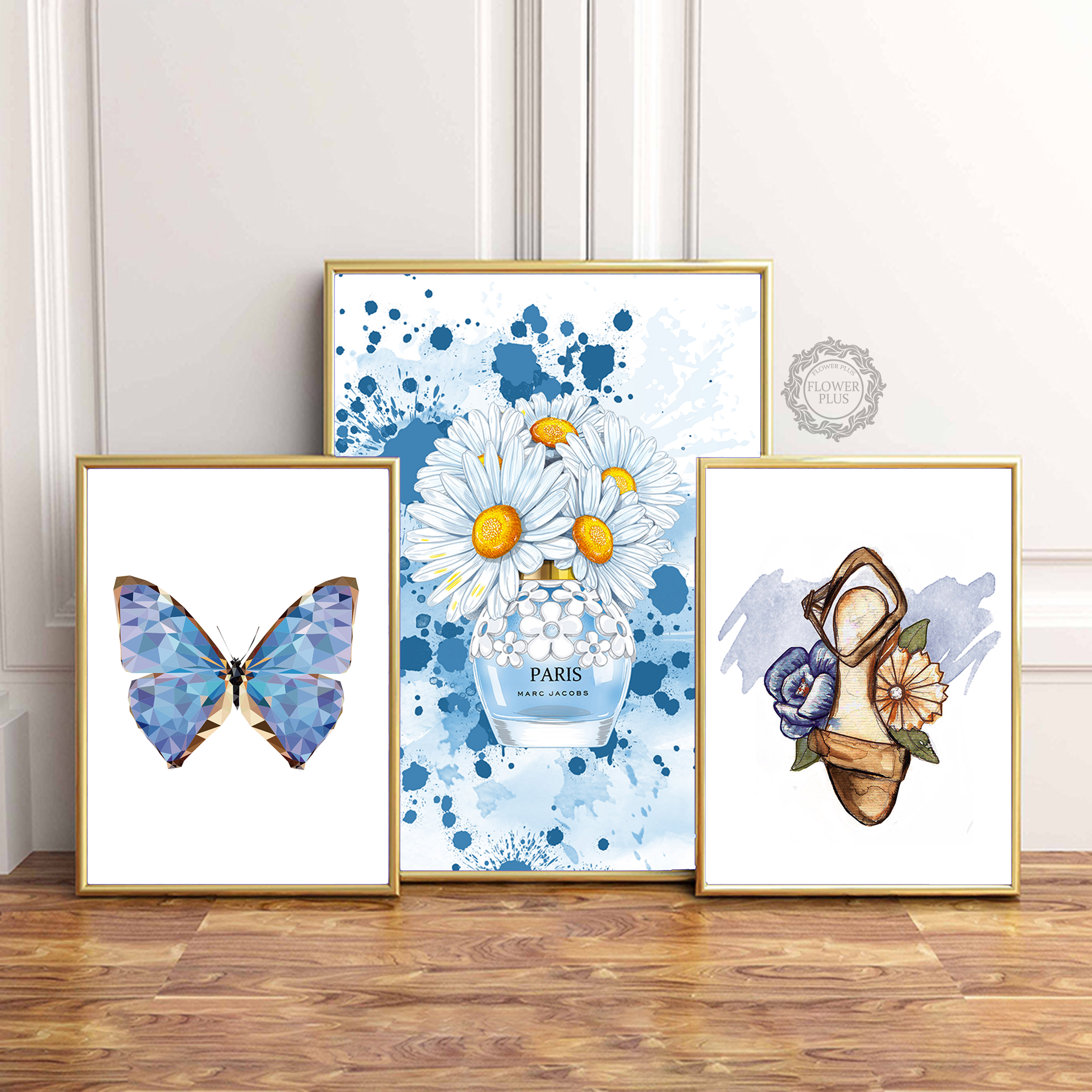 Vintage Butterfly On Music Book Canvas wall Art prints high quality great value