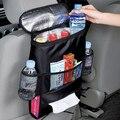 Negro Asiento Trasero Del Coche de Calor-Preservación Organizador de Viaje Multi-bolsillo Bolsa de Almacenamiento
