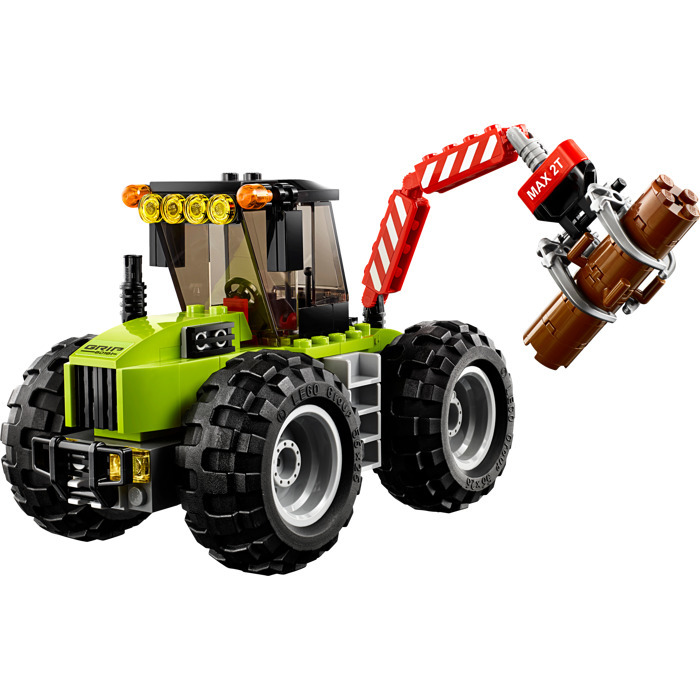 194pcs Lepine 02092 Compatible Legoe City 60181 Forest Tractor Engineering Model Building Blocks Bricks Brick Toys for Kids Gift