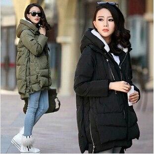 Winter Jacket Women 2016 New Europe Style Fashion Loose Coat female Medium Long Plus Size Down Park Jackets For Women Hot M0514