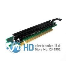 Carte PCI-E PCI Express x16 à x16, Angle droit de 90 degrés pour PC 1U 2U