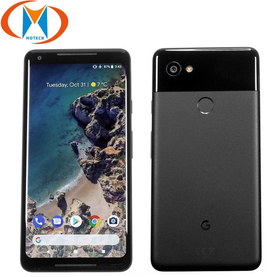 Brand New EU Version Google Pixel 2 XL 64GB 128GB Mobile Phone 6 Snapdragon 835 Octa Core 4GB RAM Fingerprint 4G Smartphone image