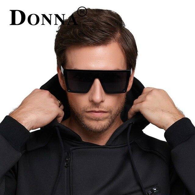 Donna Мода 2017 ретро квадратный Солнцезащитные очки для женщин Брендовая Дизайнерская обувь Для мужчин Солнцезащитные очки для женщин для вождения уличная спортивная Защита от солнца Очки очки мужской D89