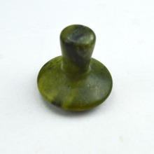 HIMABM Natural olive jade mushroom massage for face beauty relax health body chakra reiking healing stone
