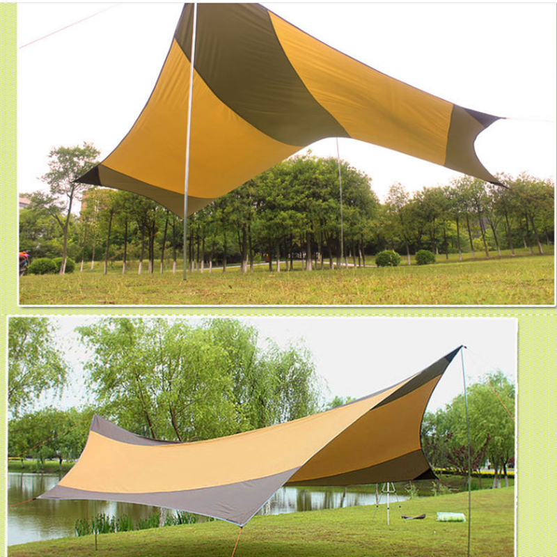 Camping Pergola Canopy Tent 5-8 Person Sun Shelter Canopy Tent Anti-UV Sun Shelter Summer Tent outdoor waterproof awning canopy ultralarge sun shading beach tent shade shed camping tent sun shelter garden tent 5 5 2 5meters