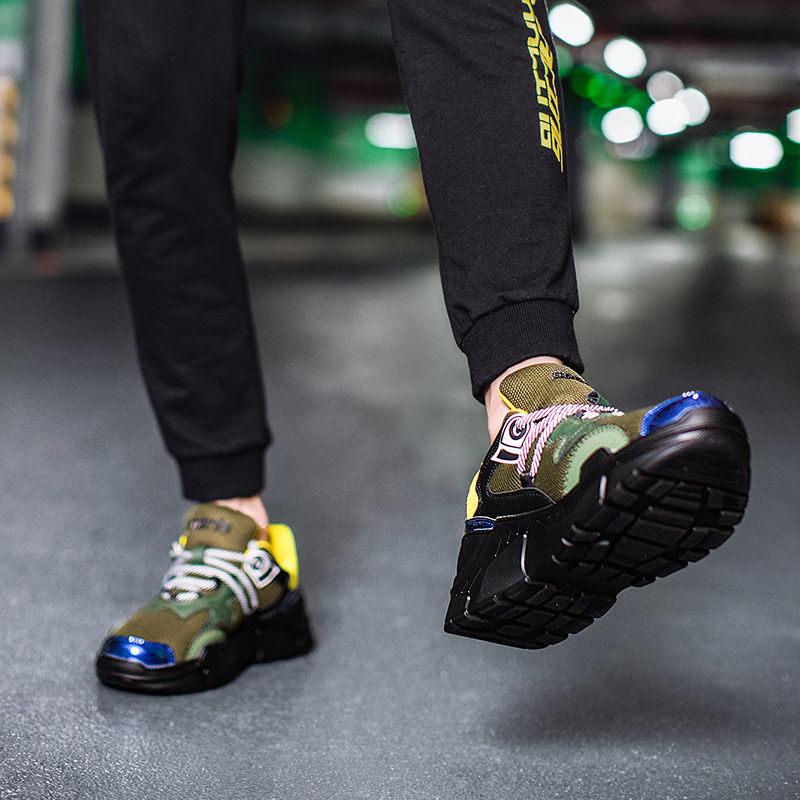 Nouveau Adulte Casual Hommes b c Respirant 2018 Sneakers Bas Designer Chaussures Épais Zapatillas Vulcaniser Hombre Deportiva Caoutchouc A En dRqgw5w