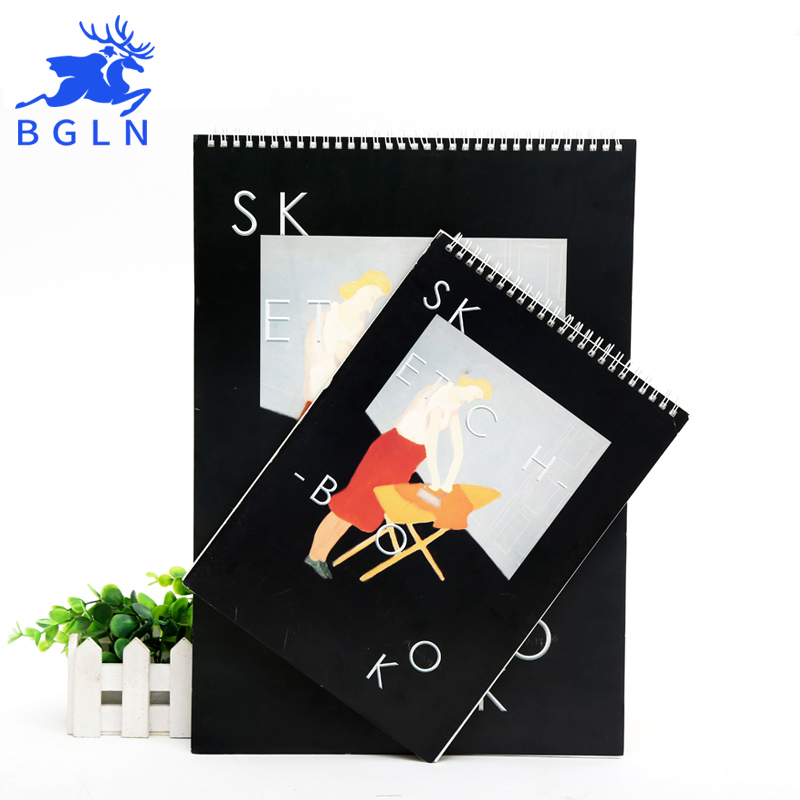 Bgln A3/A4 Milton Avery 36Sheets Sketch Book For Painting Professional Sketch Drawing Paper Book Art Supplies